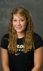 Emily McIlrath Purdue Swimmer