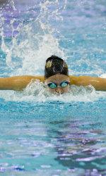 seraphina van purdue swimmer