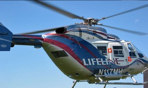 Lifeline Critical Care Transport Helicopter