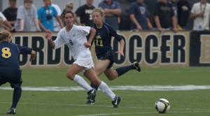 Purdue Women's Soccer at the Under Armour Invitational, Sept 5, 2010