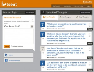 Screenshot of Hotseat