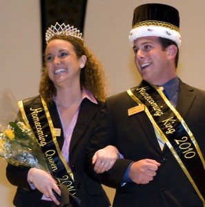 Purdue University West Lafayette 2010 Homecoming King and Queen