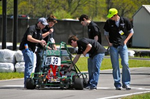 Kart 39 winner of inaugural Purdue evGrandPrix