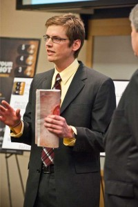 Sean Connell at Purdue Elevator Pitch Competition