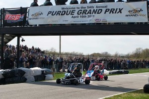 Penix crosses finish line at 54th Purdue Grand Prix