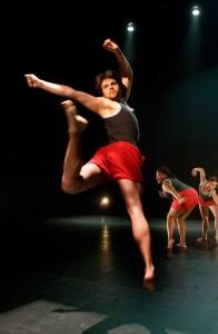 Spring Works dance concert rehearsal