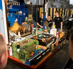 Winning Rube Goldberg Machine Destroys the World