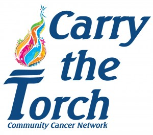 Carry the Torch Walk for the Community Cancer Network in Lafayette, Indiana