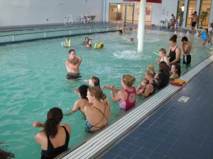 Photo of swim class from previous Pete's Pals session