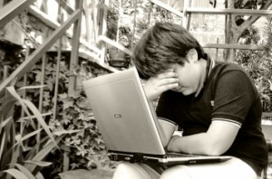 Sometimes students use social media and technology to the exclusion of real live friends and resources.